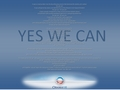 Yes We Can! - Obama '08 Wallpaper - 1400x1050