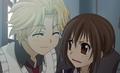 Yuuki and Hanabusa Aido
