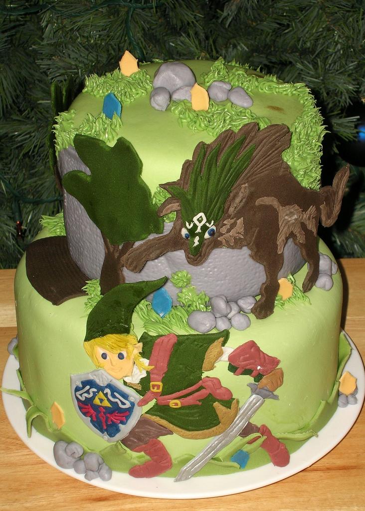 Zelda Twighlight Princess cake