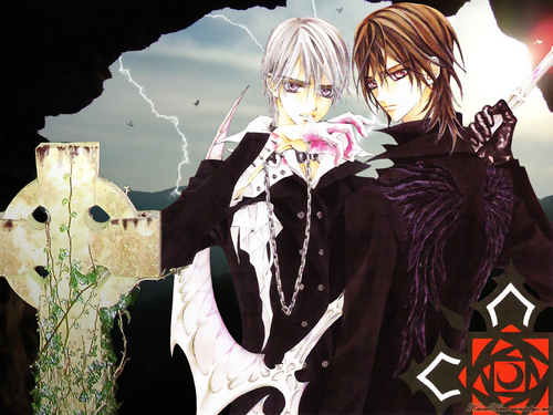 Vampire Knight wallpaper entitled Zero & Kaname