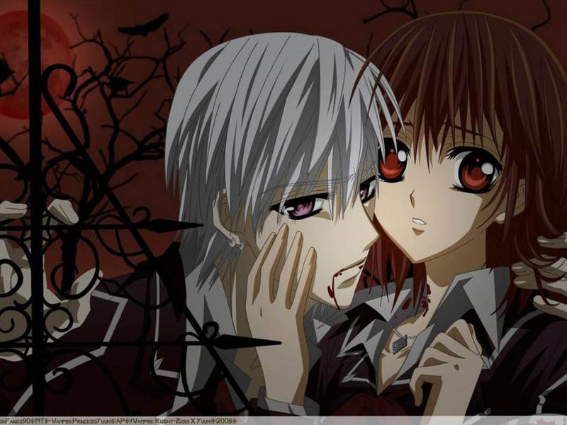 vampire knight zero. Zero amp; Yuuki - Vampire Knight