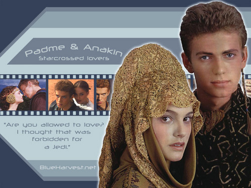 Anakin and Padme wallpaper titled anakin