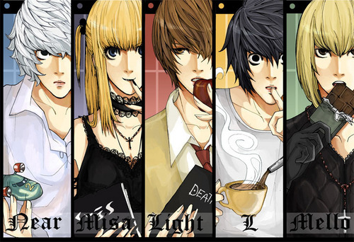 Death Note achtergrond probably with anime titled deathnote