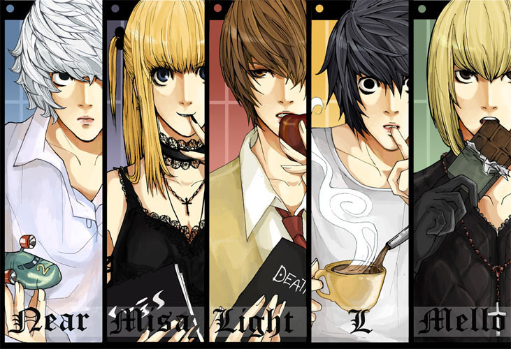N Anime Character : Death note images deathnote hd wallpaper and background