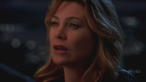Grey's Anatomy karatasi la kupamba ukuta with a portrait entitled finale