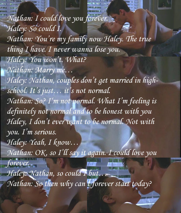 Forever Love Quotes And Sayings: One Tree Hill Quotes Images I Could Love You Forever HD