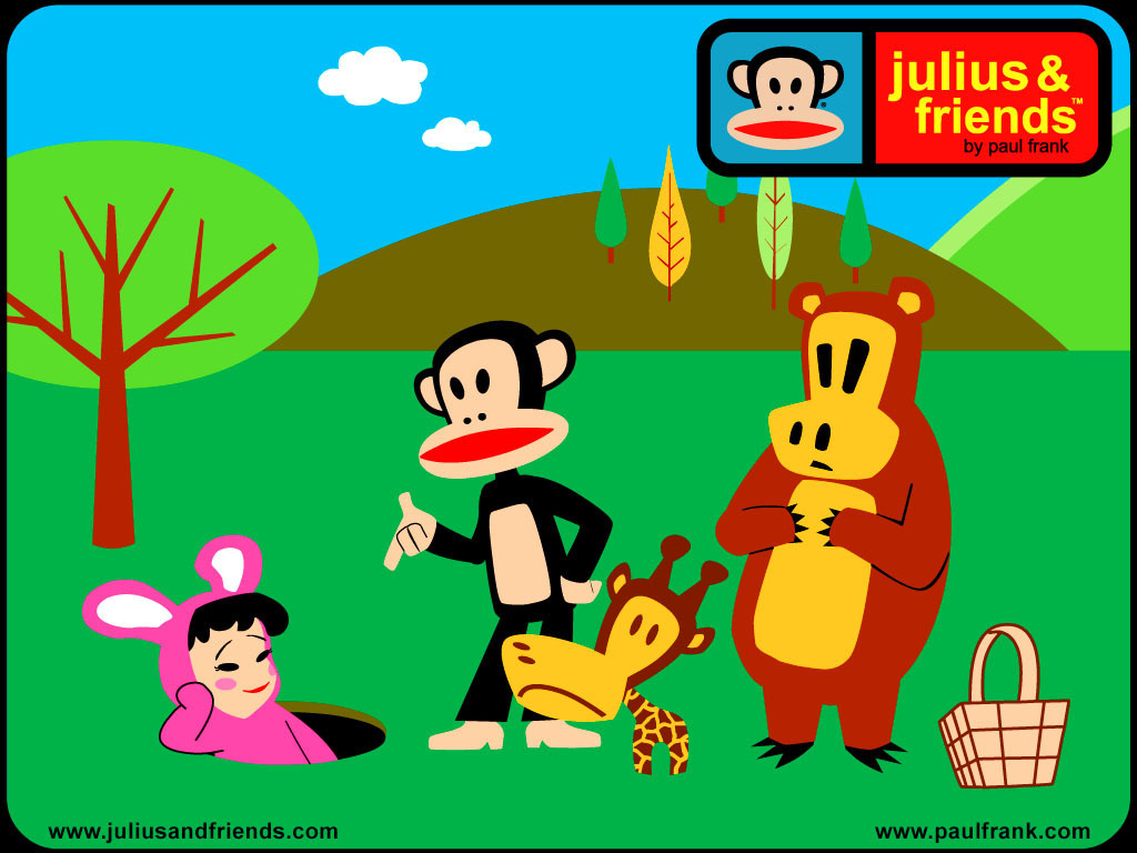 paul frank is you friend