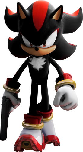 Shadow The Hedgehog kertas dinding entitled shadow big