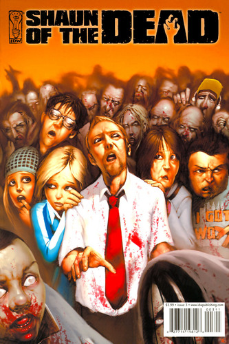shaun of the dead comic