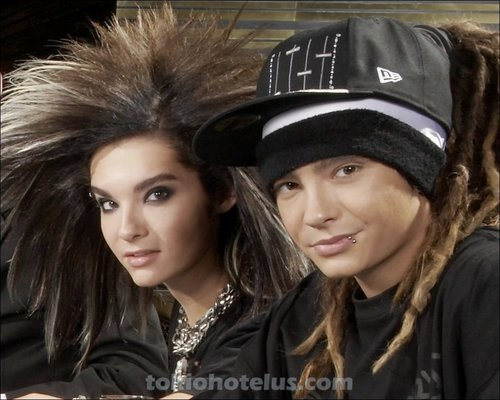 Tom & Bill Kaulitz 壁纸 possibly with a well dressed person, dress blues, and a portrait titled tom&bill