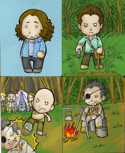 """""""Lost Cards"""" Cartoon"""