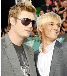 Aaron en Nick Carter