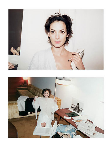 Marc Jacobs wallpaper probably with a portrait called Ads with Winona Ryder