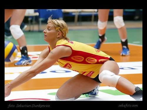 Ania Baranska - volleyball Photo
