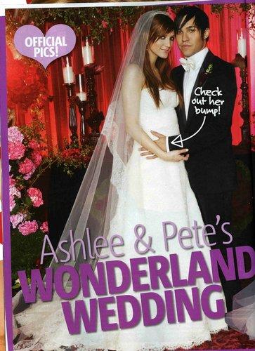 Ashlee Simpson images Ashlee & Pete Wedding HD wallpaper and ...