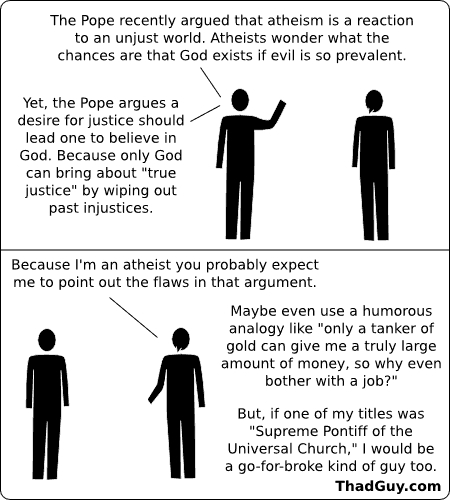 Atheism cartoons
