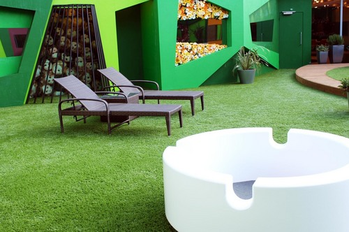 Big Brother UK wallpaper probably containing a patio called BB9 House