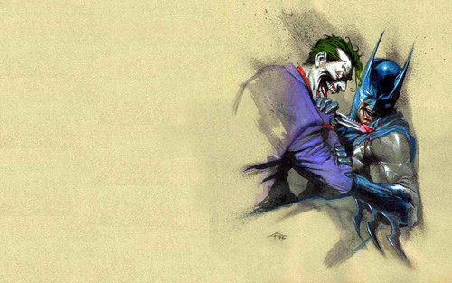 Batman and The Joker