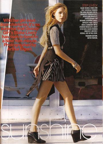 Blake in Teen Vogue