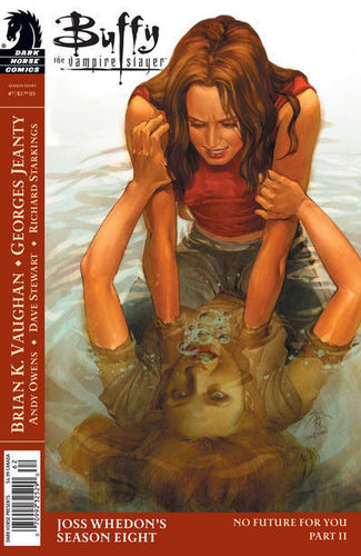 Buffyverse Comics achtergrond containing anime called Buffy Comic Cover