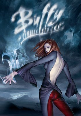 Buffyverse Comics achtergrond probably with tights and a cocktail dress titled Buffy Comic