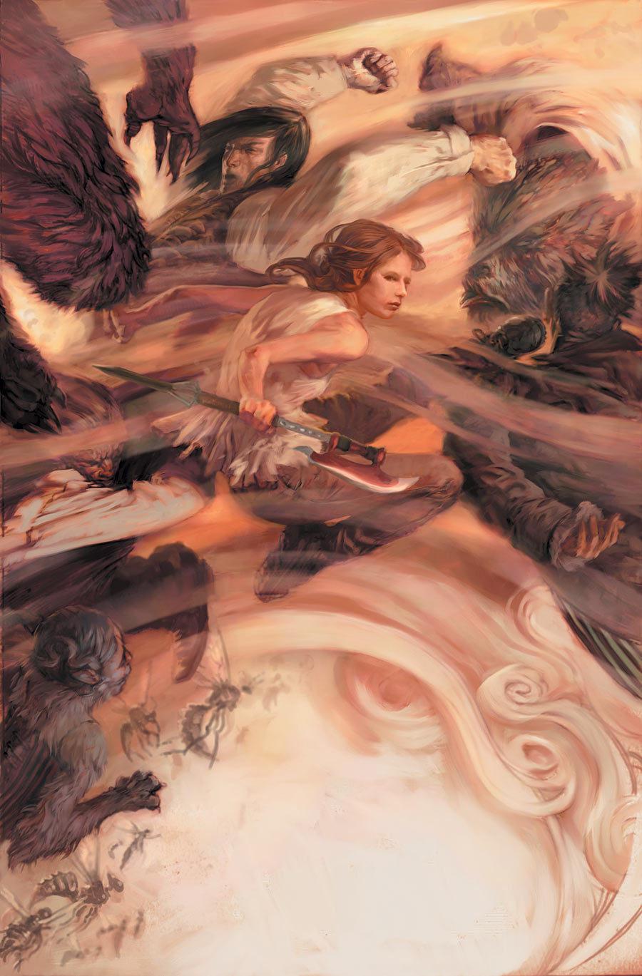 Buffy Season 8 Cover Art