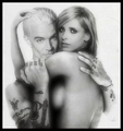 Buffy & Spike - buffy-the-vampire-slayer fan art