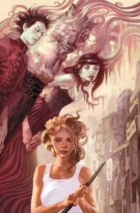 Buffyverse Comics achtergrond entitled Buffy front cover