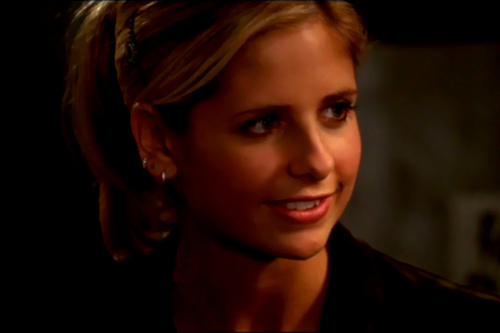 "Buffy in ""Harsh Light of Day"""