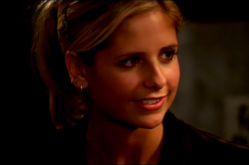 "Buffy in ""Harsh Light of Day"""