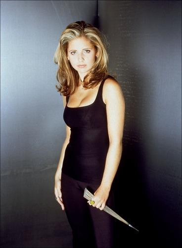 Buffy the Vampire Slayer karatasi la kupamba ukuta titled Buffy (season 1)