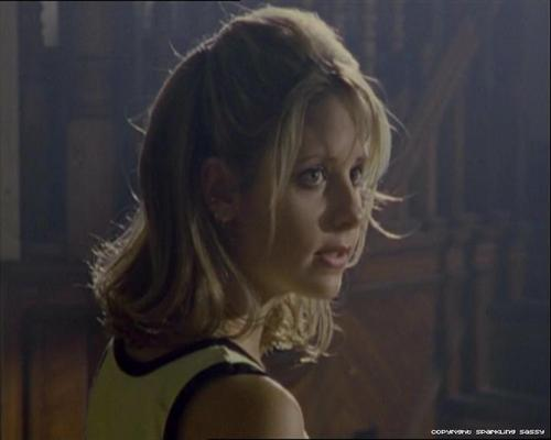 Buffy The Vampire Slayer kertas dinding possibly with a portrait titled Buffy (season 2)