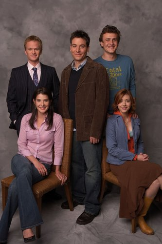 How I Met Your Mother wallpaper containing a business suit and a well dressed person called Cast