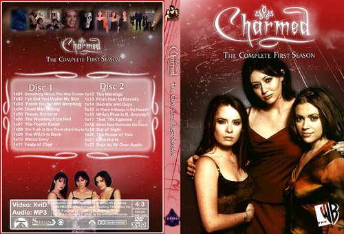 Charmed Season 1 Dvd Cover Made par Chibiboi