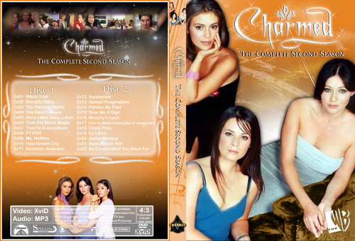 Charmed Season 2 Dvd Cover Made door Chibiboi