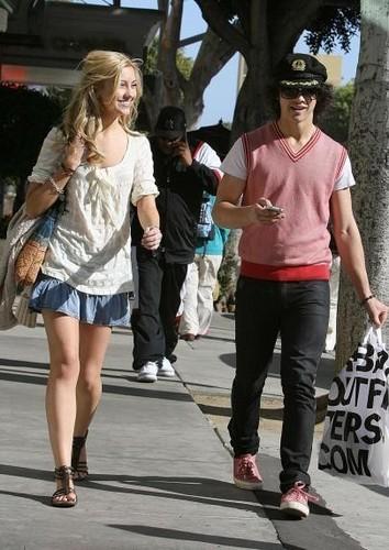Chelsea Candids with Joe Jonas