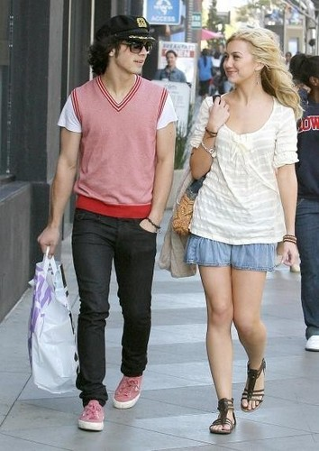 Chelsea and Joe Jonas Candids