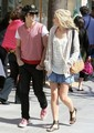 Chelsea and Joe Jonas Candids