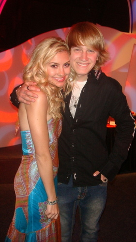 Chelsea with Jason Dolley at DC Games