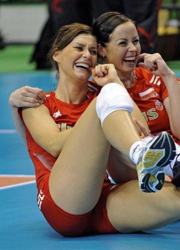 Dziekiewicz & Skowronska - volley-ball