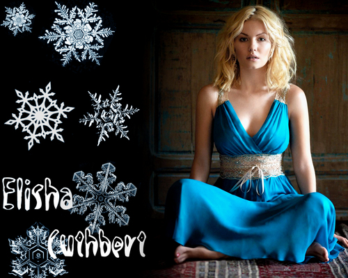 Elisha Cuthbert wallpaper with a cena dress, a gown, and a strapless titled Elisha