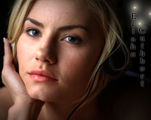 elisha cuthbert wallpaper with a portrait called Elisha