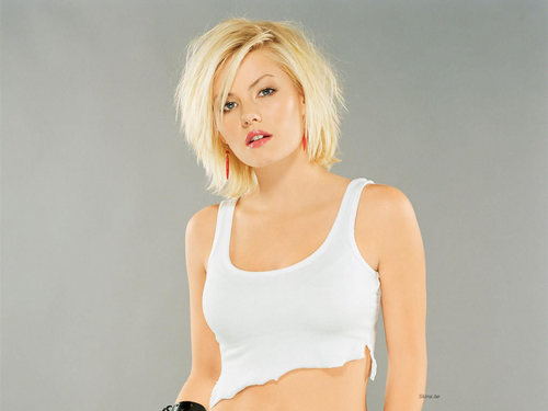 Elisha Cuthbert پیپر وال probably containing attractiveness, a bustier, and a leotard titled Elisha