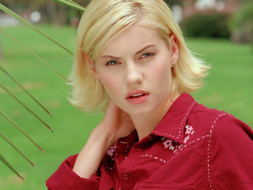 Elisha Cuthbert wallpaper probably containing an outerwear and a portrait entitled Elisha