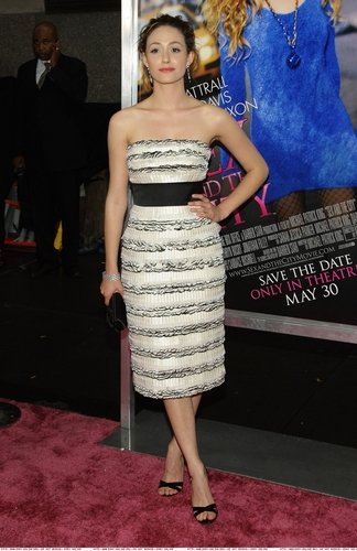 Emmy at the SATC movie premiere