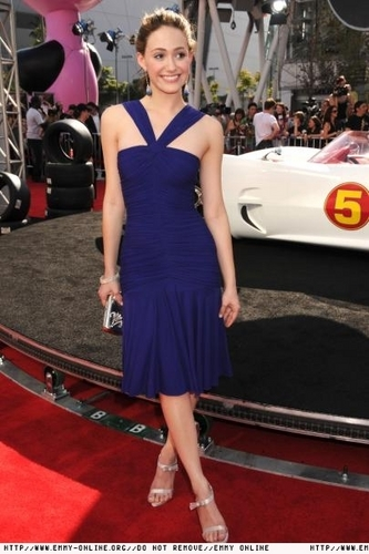Emmy at the Speed Racer premiere