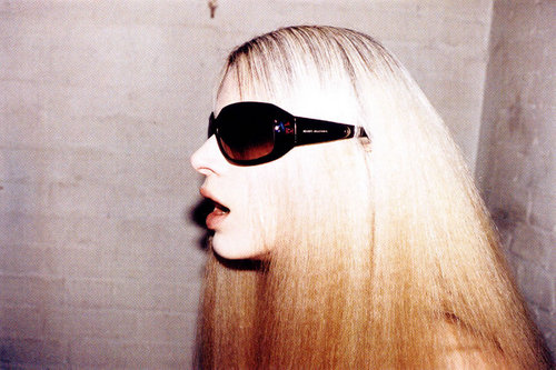 Marc Jacobs वॉलपेपर containing sunglasses titled FW 2005 Ads with Kristen McMenamy