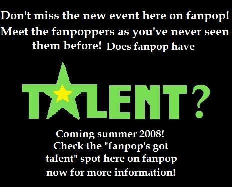 Fanpop's got talent spot