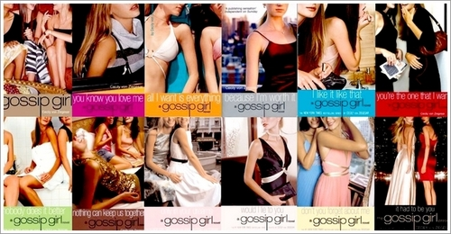Libri da leggere wallpaper probably with a bikini and a portrait titled GOSSIP GIRL libri