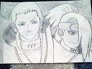 Hidan and Deidara